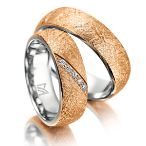 Icon <strong>One of a kind – for two</strong> No ring model is like another. For brides and grooms who value individuality and rings with a unique character.