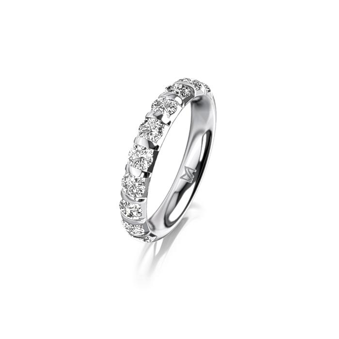 Meister Eternity Ring 0 Eternity Rings Whitegold Meister